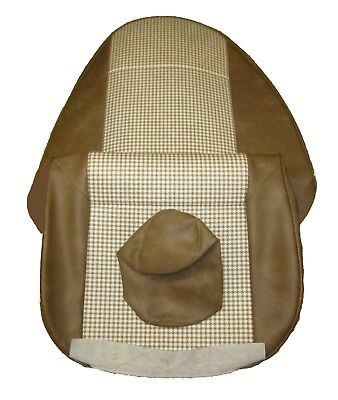 New Pair Seat Covers Upholstery Triumph Spitfire 1973+ Made Hounds Tooth Beige