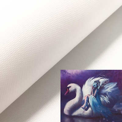 Canvas Roll Inkjet Print Blank Matte 280gsm Eco-Solvent Oil Painting Art Craft