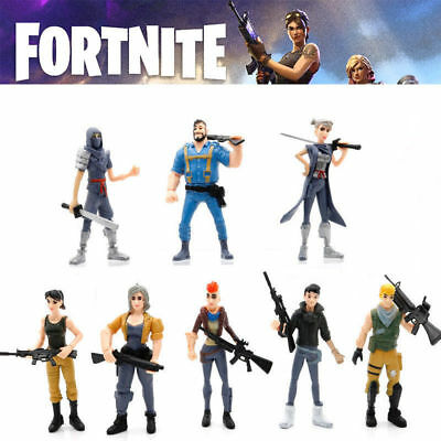 8Pcs Fortnite Battle Game Royale Save The World Action Figures Kids Toy Gift
