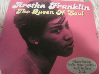 Aretha Franklin Queen of Soul 2 cd