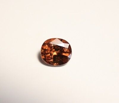 2ct Honey / Orange Malaya Garnet - Precision Cut Large Cushion Cut Gem