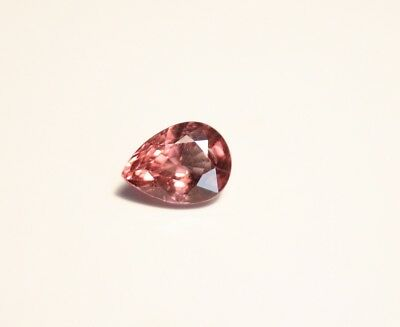 1.75ct Pink Malaya Garnet - Precision Pear Cut Gem
