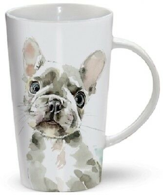 FRENCH BULLDOG Tall Latte Mug | A Great Gift for a Frenchie Dog Lover | Free P&P