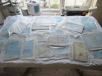 Large job lot 33  old maps N G mostly 1950s some older