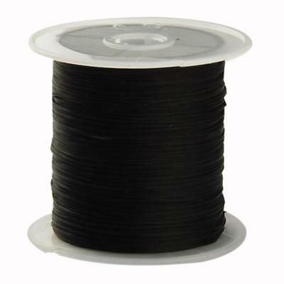 For Jewelry Roll Strong Stretchy Elastic String Crystal Beading Cord Line Black