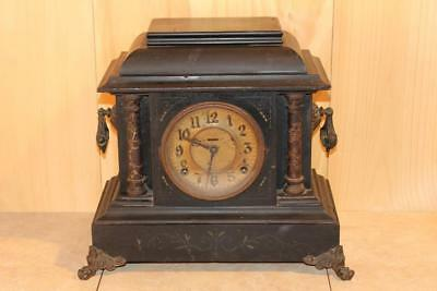 Majestic Antique Ingraham Mantle Clock ~Late 1800's~ *Nice*