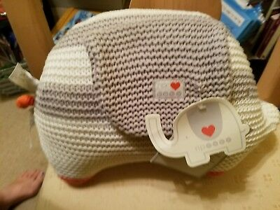 NP Baby My first friend knitted plush elephant Petuche. New with tags