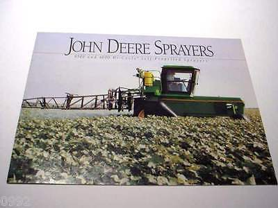 6 John Deere SP Sprayer & Cultivator Brochures, 148 Pages Total, Excellent Asst#