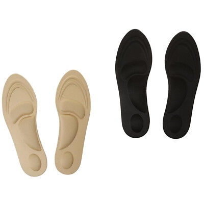2 Pairs 3D Sponge Pain Relief Massage Metatarsal Arch Insoles Shoe Inserts