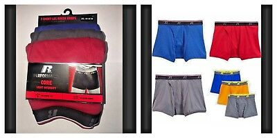 RUSSELL Boxer Briefs 3 Pack Russell Athletic Performance