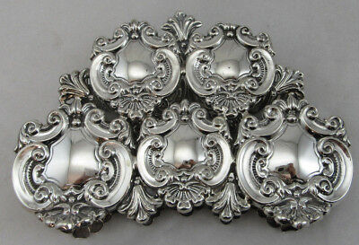 Sterling Silver 925 Napkin Holder VERY UNIQUE Style Elegant View 162 GRAMS