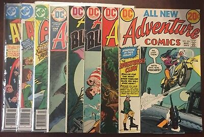 DC Adventure Comics Lot Of 8 Comics All In 8.5-VF/NM Condition