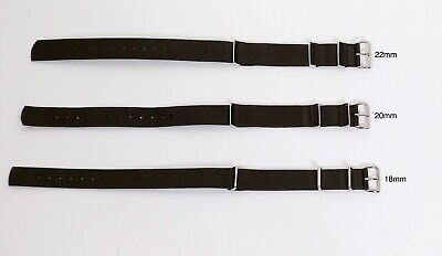 Phoenix NATO / G10 Watch Strap Olive Green  Made in UK - New (see sizes) *