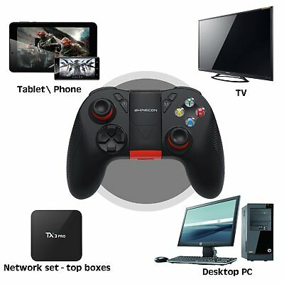 Wireless Bluetooth Gamepad Remote Game Controller SC-B04 For Phone PC Tablet TV