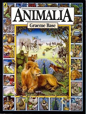 Animalia By Graeme Base (Kids' Mini Book Collection Paperback) NEW