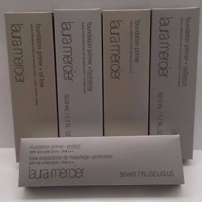 Laura Mercier Foundation Primers Full Size 6 colors (Hydrating, Radiance, Oil Fr