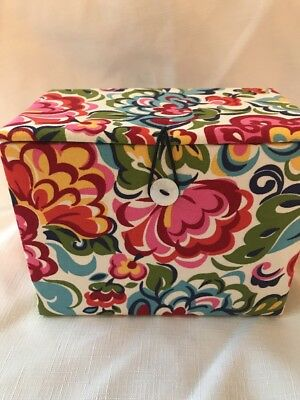 Vera Bradley Hope Garden Recipe Box