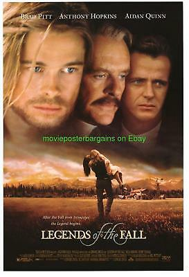 LEGENDS OF THE FALL MOVIE POSTER DS 27x40 BRAD PITT