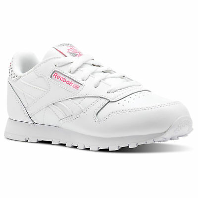 Reebok Kids' Classic Leather Girl Squad Shoes