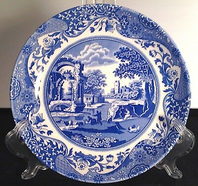 "Spode BLUE ITALIAN 8 3/4"" PASTA BOWL NEW with STICKER Made in England"