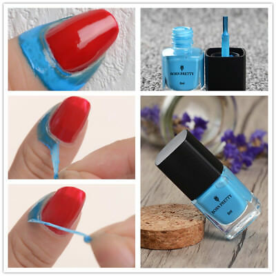 BORN PRETTY 6ml Blue Nail Art Liquid Tape & Peel Off Base Coat  Latex