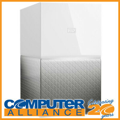 "4TB WD 3.5"" My Cloud Home Duo NAS PN WDBMUT0040JWT-SESN White"