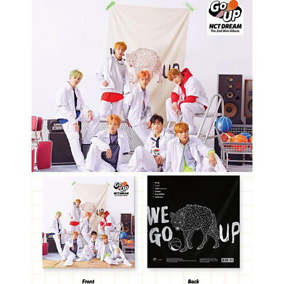 NCT DREAM 2nd Mini Album[We Go Up]CD+Booklet+PhotoCard+StickerPack. SEALED K-Pop