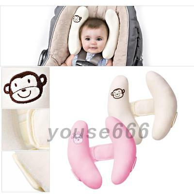 Must Have Baby Travel Car Seat Soft Pillow Stroller Cushion Head Neck Support UK