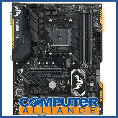 ASUS AM4 ATX TUF X470-PLUS Gaming Motherboard