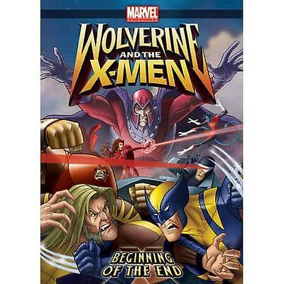 Wolverine and the X-Men: Beginning of the End (DVD, Cartoons, Children, 2009)