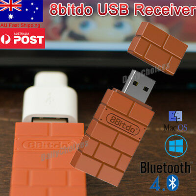 8Bitdo Wireless Bluetooth Receiver USB Converter For Nintendo Switch Adapter AU