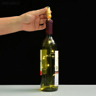 A2AA Copper Wire Wine Bottle Cork Battery Operated Fairy String Lights 20 LED