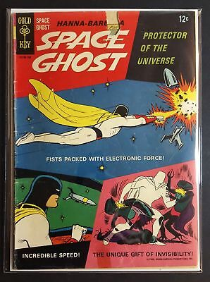 Space Ghost #1 | Gold Key 1966 1st Appearance in Comics Hanna-Barbera CBS