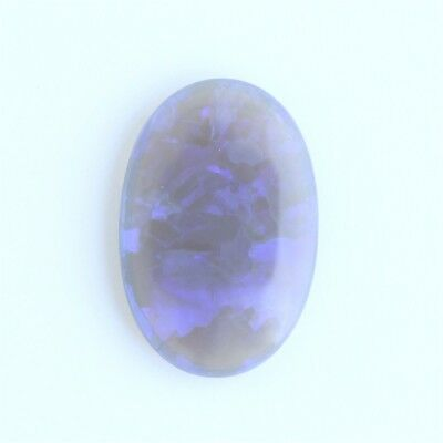 19.9x13.5MM 6.52CT AUSTRALIAN BLACK CRYSTAL OPAL LIGHTNING RIDGE NATURAL SOLID