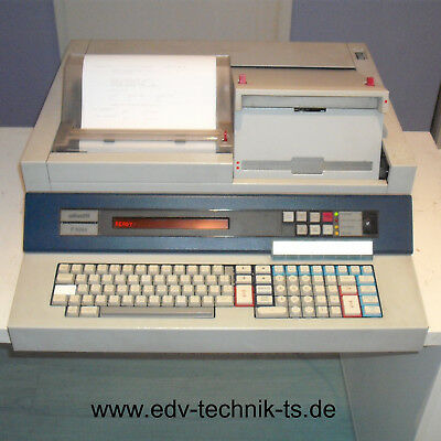 Olivetti P6066 mit Drucker, Display, Floppy, BASIC, Manuals. Funktionstüchtig!