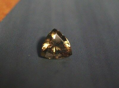 1.6ct Golden Malaya Garnet - Precision Custom Cut Trillion
