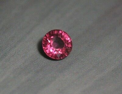1.58ct Purple Malaya Garnet - Precision Custom Cut Round