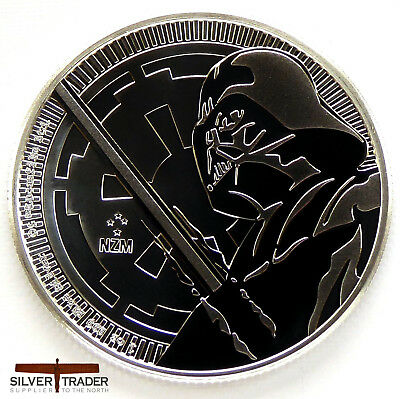 2018 1oz Darth Vader Silver Star Wars 1 ounce Silver Bullion Coin unc: