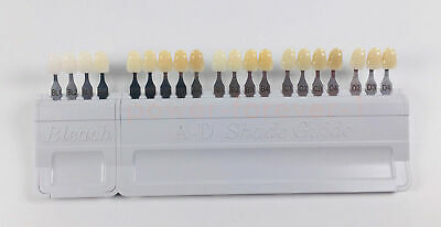 Dental A-D Shade Guide Bleach Teeth IPS Natural Die Abutment  Ivoclar Vivadent