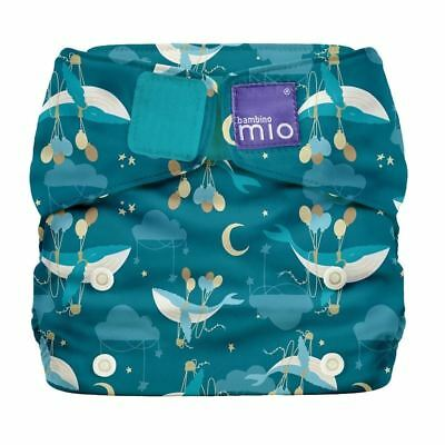 Bambino Mio Miosolo All In One Nappy Whale & Balloons 1 2 3 6 12 Packs