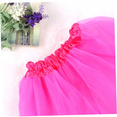 Girls Kids Baby Tutu Party Ballet Dance Wear Dress Skirt Pettiskirt Costume GE