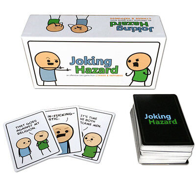 Joking Hazard Cyanide and Happiness Kickstarter Edition Party Game Card Game