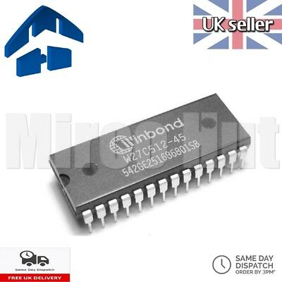Winbond W27C512-45Z 512Kb (64K x 8) Flash EEPROM - Commodore 64 BBC Micro ATMEL