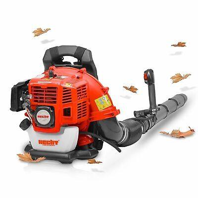 43cc Petrol Garden Leaf Blower with Backpack Harness – Hecht 943
