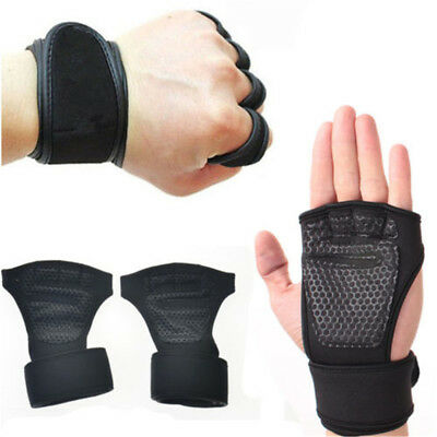 Fitness Gloves Weight Lifting Sport Workout Training Wrist Wrap for Men/Women---