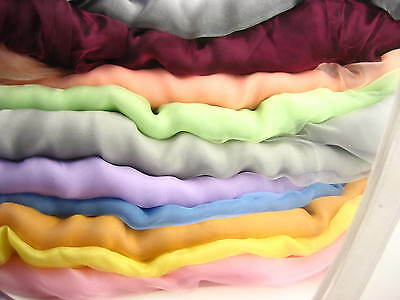280cm Organza voile wide fabric wedding curtain decoration wide colour choice