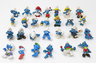 Lotto puffi schleich peyo smurf smurfs schtroumpf new in scatola puffo pitufos