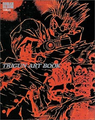 Trigun  Illustration Art Book Roman Album Yasuhiro Nightow Japan Anime Manga