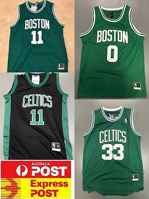 Boston Celtics Larry Bird, Kyrie Irving, Jayson Tatum jerseys Collection!