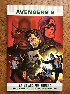 Ultimate Comics Avengers: Crime And Punishment by Mark Millar (paperback)